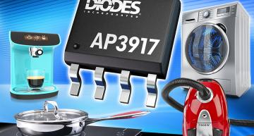 Diodes'AP3917family of universal AC-DC converters with non-isolated buck (step-down) power switches is aimed at low-power always on applications such as small appliances and IoT endpoints