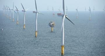 The Haliade-X Turbines from GE Renewable Energy will be used by Dogger Bank Wind Farms