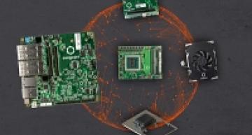 Ecosystème complet de 100 W pour les serveurs de périphérie et micro serveurs embarqués