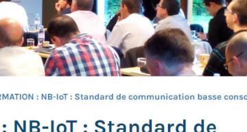« NB-IoT » la nouvelle formation de CAP'TRONIC en partenariat avec ALCIOM