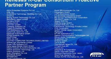 Le programme du Consortium R-Car accélère l'innovation en matière de mobilité automobile