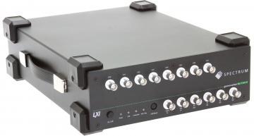 Spectrum propose quatre nouveaux générateurs AWG à base LXI pour la génération de signaux à grande amplitude