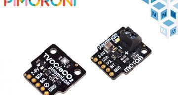 Les cartes breakout de Pimoroni pour Raspberry Pi disponibles chez Mouser