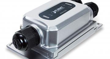 Extenseur PoE robuste et anti-vibration pour toute application extérieure