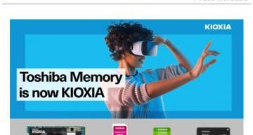 KIOXIA lance une gamme de produits de consommation grand public
