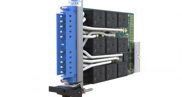 Modules de commutation à fort courant de charge AC ou DC, un seul slot PXI