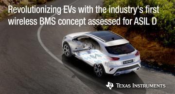 Batterie pour véhicules électriques : la solution de BMS sans fil