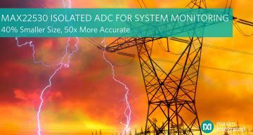 Solution de surveillance de système isolé, la plus compacte et la plus précise du marché