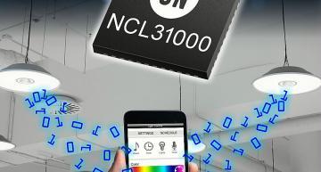 Les drivers de LED ON Semiconductor ajoutent l'intelligence à l'éclairage connecté