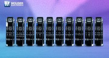 Mouser Electronics récompense les gagnants du Best-in-Class Award 2021