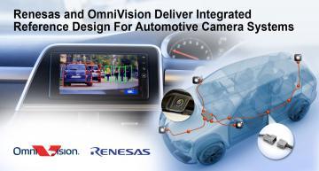 Solution de référence intégrée pour les systèmes de caméras automobiles