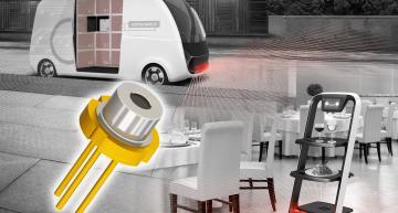 Diode laser à haute puissance optique pour LiDAR