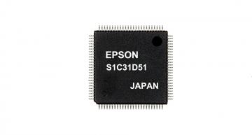 Epson has launched theS1C31D51, a 32-bit ARM Cortex-M0+ MCU that has integrated hardware that is able to play sound on speakers and buzzers.
