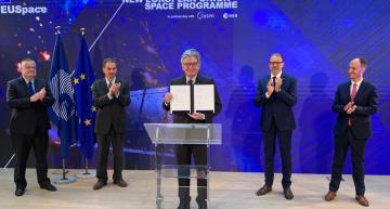EU launches its €13bn integrated space programme