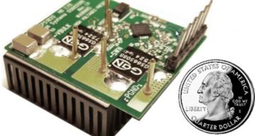 Half bridge evaluation board combines 650V GaN switch with NCP51820 gate driver for AC-DC adapters, data centre power supplies, PV inverters, energy storage systems and Bridgeless Totem Pole designs.