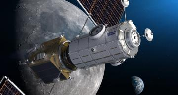 Time triggered network for space HALO gateway