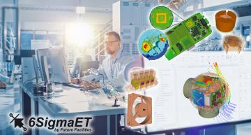 UL, 6SigmaET team for thermal simulation certification of industrial automation