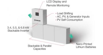 The Humless Universal is the solar power industry's first 48V Energy Storage System (ESS) that intelligently manages the flow of electricity from any source for any use.