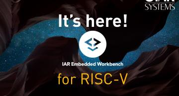 IAR Systems has launched the company's IAR Embedded Workbench C/C++ compiler and debugger toolchain with support for RISC-V cores.
