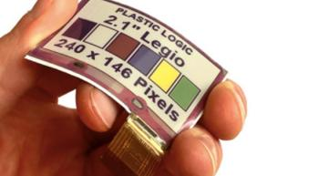Plastic Logic, E Ink launch flexible e-paper color display