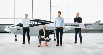 The world's first five seat electric jet air taxi, developed in Munich, has taken its maiden flight.