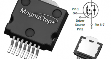 MagnaChip's 100V Mid-Voltage MOSFET is in a new M2PAK-7P thermal package for the fast-growing e-bike market.