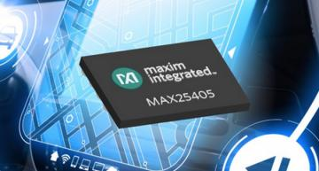 Maxim improves IR sensor for gesture detection