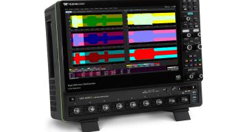 Teledyne LeCroy's WaveRunner 8000HD High Definition Oscilloscope (HDO), the MDA 8000HD Motor Drive Analyzer (MDA), and OscilloSYNC technology