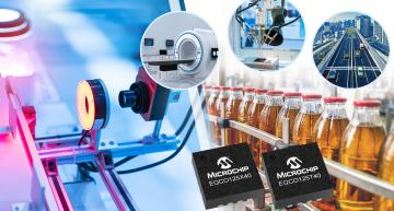 Microchip has introduced a single-chip range of physical-layer interface devices that will implement the CoaXPress (CXP) standard and streamline machine vision system design.