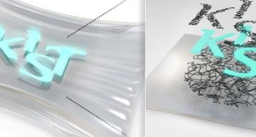 Stretchable and transparent electrodes