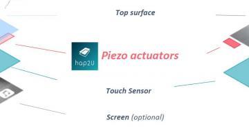 Une startup française en pointe dans les interfaces haptiques
