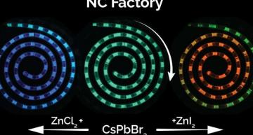Microfluidics-based quantum dot 'factory' tunes colour on-the-go