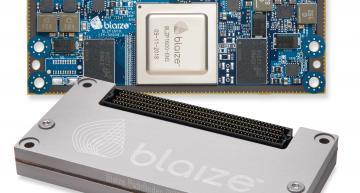 Blaize teams for 3D stereo camera edge AI