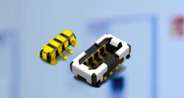3A board-to-FPC connector for wearables