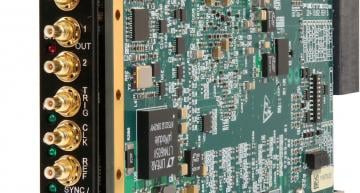 Pentek has launched a new member of the company's Jade family of high-performance data converter 3U VPX modules that are centred on Xilinx's Kintex Ultrascale FPGA.