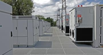UK's first grid-scale battery connects
