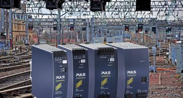Five DIN rail power supplies from PULS Power have been qualified for use on UK railways