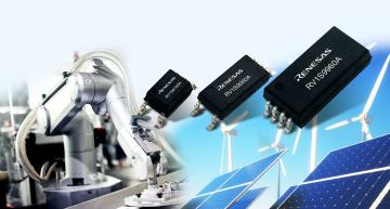 Renesas Electronics has launched a photocoupler family to withstand the harsh operating environments of power systems in industrial and factory automation equipment and provide 15Mbit/s data rates.
