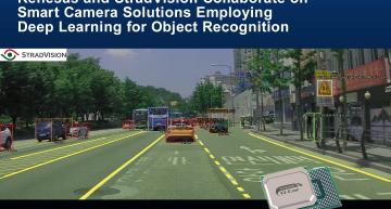 Renesas and StradVision have jointly developed a deep learning-based object recognition solution for smart cameras for ADAS Level 2 and above.