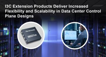 I3C bus extension products provide 12.5 MHz speeds