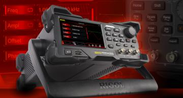 RIGOL expanded its Waveform Generator portfolio with new DG2000 Series that combines budget prices with advanced features.