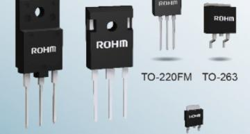 Rohm's 30 MOSFET models feature the industry's fastest reverse recovery time and improved design flexibility