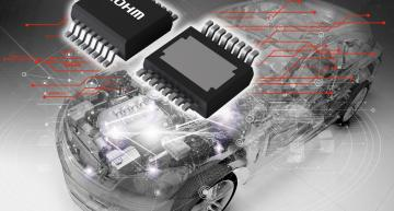 Rohm's BV2Hx045EFU-C is the first high-side IPD family to provide standalone protection against overcurrent via a new overcurrent protection function.