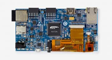 RS Components is now stocking the Renesas' RX72N Envision Kit, which has been optimised for IoT applications that need a GUI.