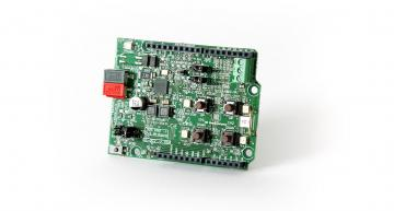 RS Components is now stocking the arduino-compatible NCN5100ASGEVB evaluation boards from ON Semiconductor.