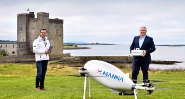 Samsung starts drone deliveries in Ireland