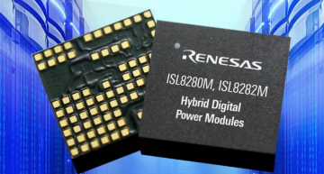Digital Power Modules supply processing logic circuits, memory