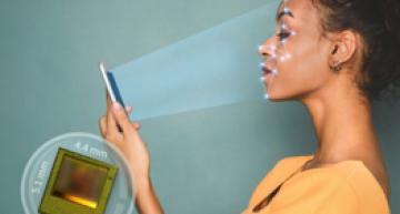 3D image sensor for face authentication