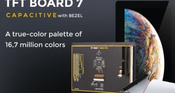 TFT Board 7 Capacitive from Mikroe