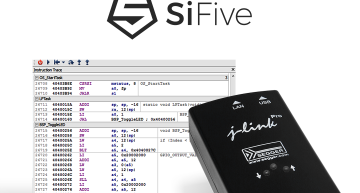 SEGGER's J-Link probes now support SiFive's Insight debug/trace solution, including SiFive's latest Nexus-based trace implementation.